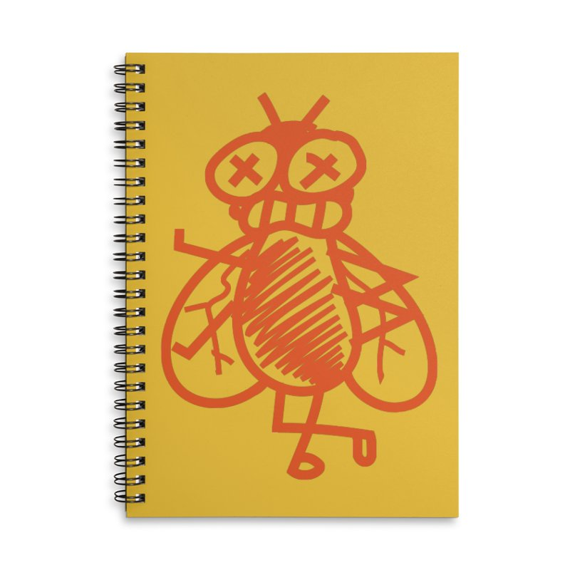 The Fly Accessories Lined Spiral Notebook by libedlulo