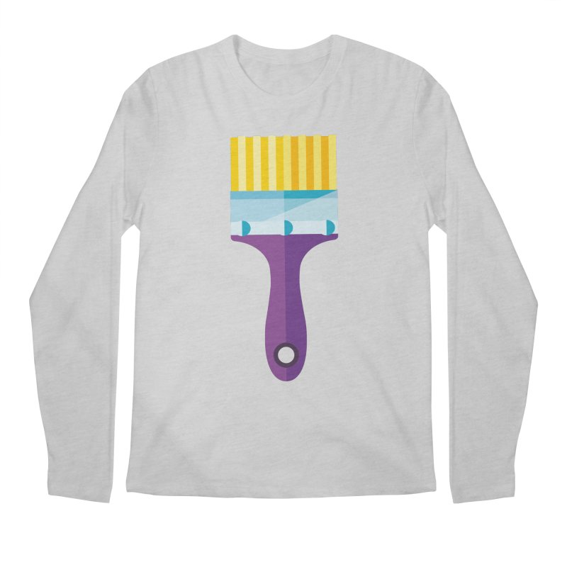 Brush Men's Regular Longsleeve T-Shirt by libedlulo