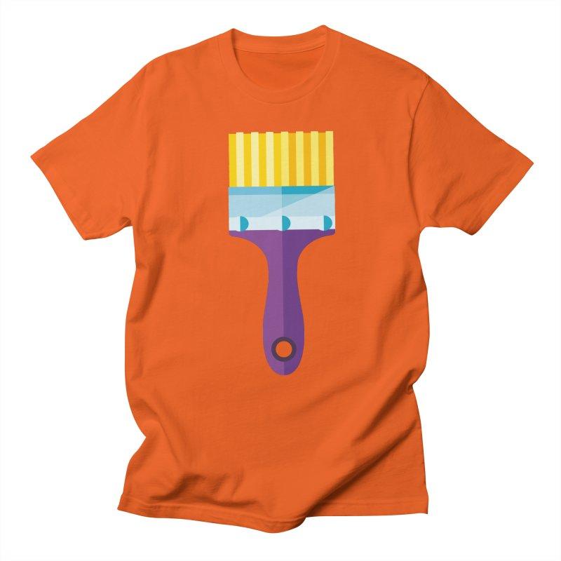 Brush Women's Regular Unisex T-Shirt by libedlulo