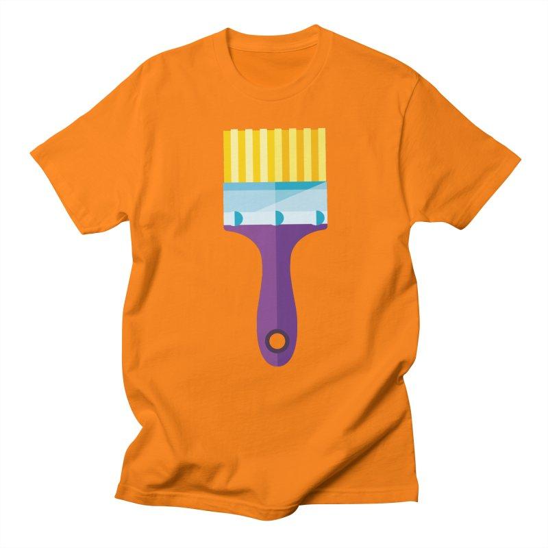 Brush Men's T-Shirt by libedlulo