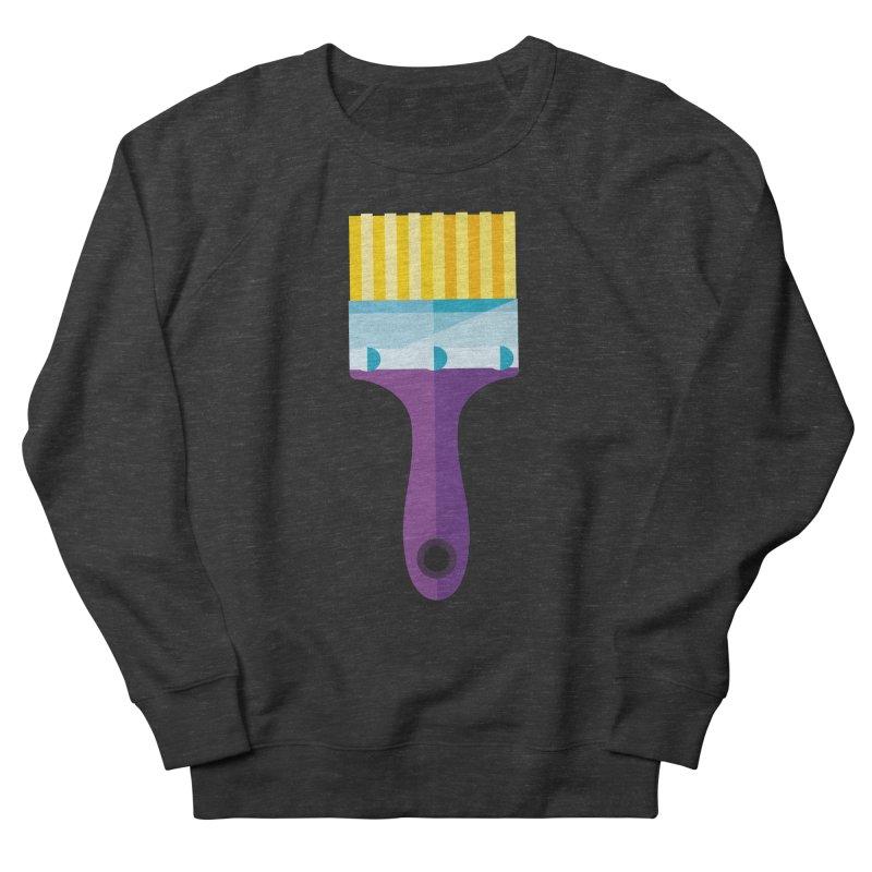 Brush Women's French Terry Sweatshirt by libedlulo