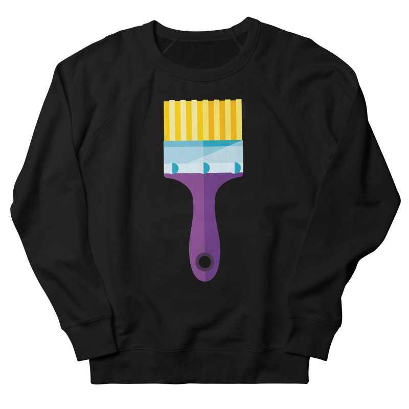 Brush Men's French Terry Sweatshirt by libedlulo