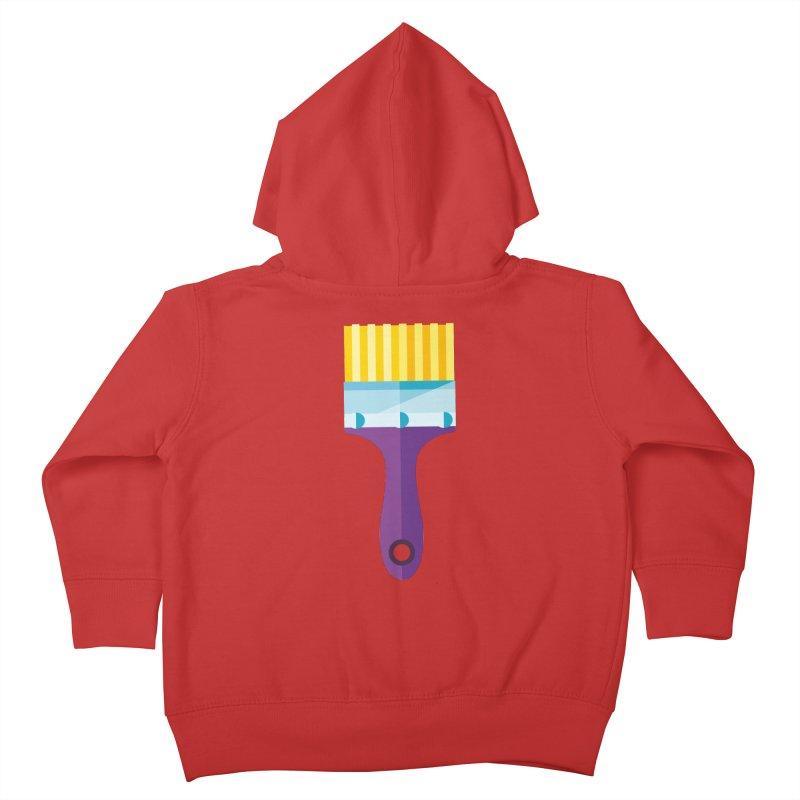Brush Kids Toddler Zip-Up Hoody by libedlulo