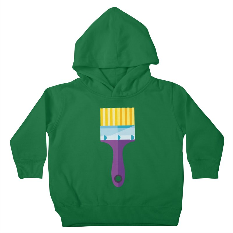 Brush Kids Toddler Pullover Hoody by libedlulo