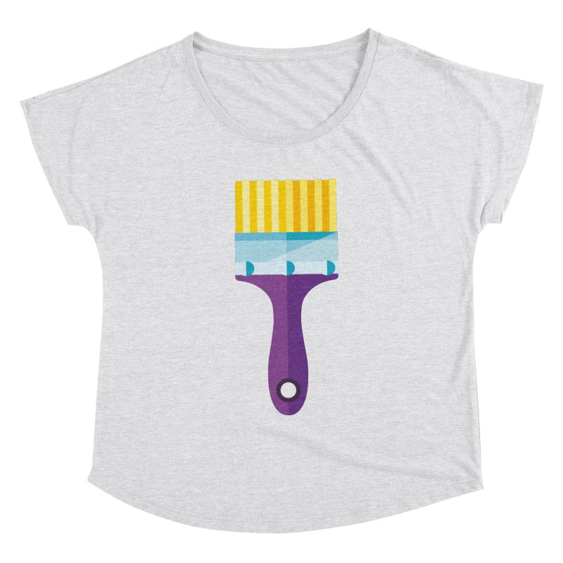 Brush Women's Scoop Neck by libedlulo