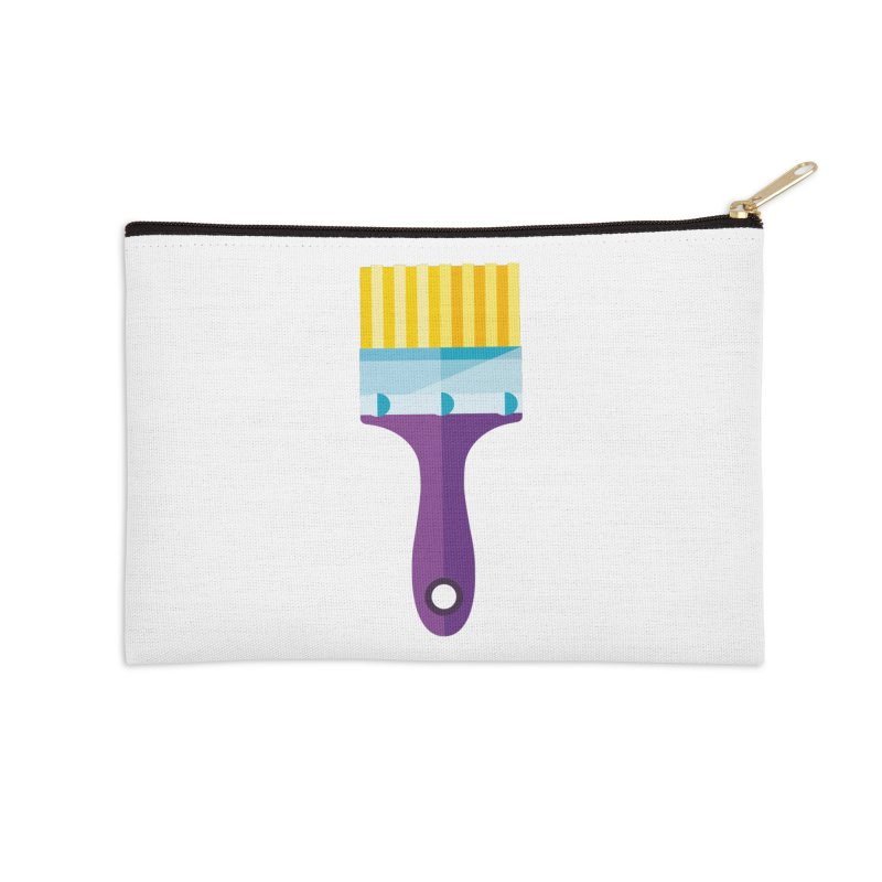Brush Accessories Zip Pouch by libedlulo