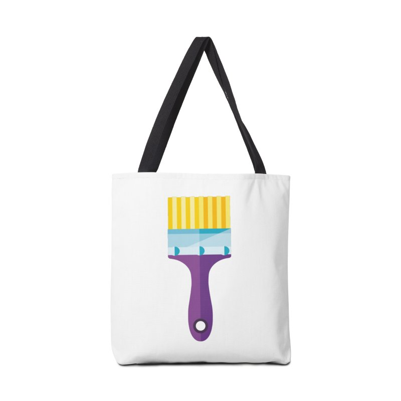 Brush Accessories Tote Bag Bag by libedlulo