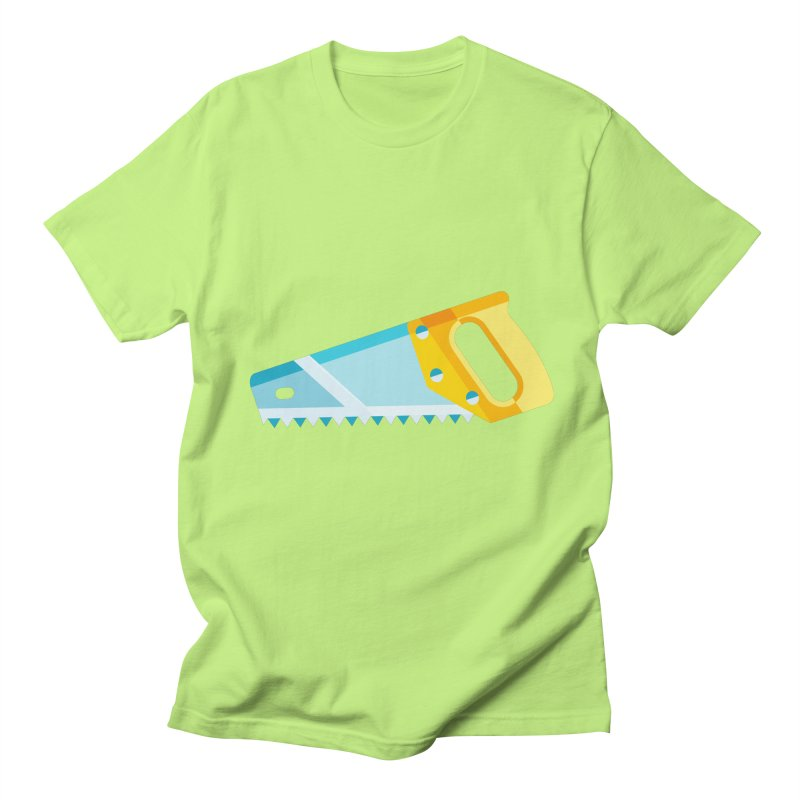 Saw Women's Regular Unisex T-Shirt by libedlulo