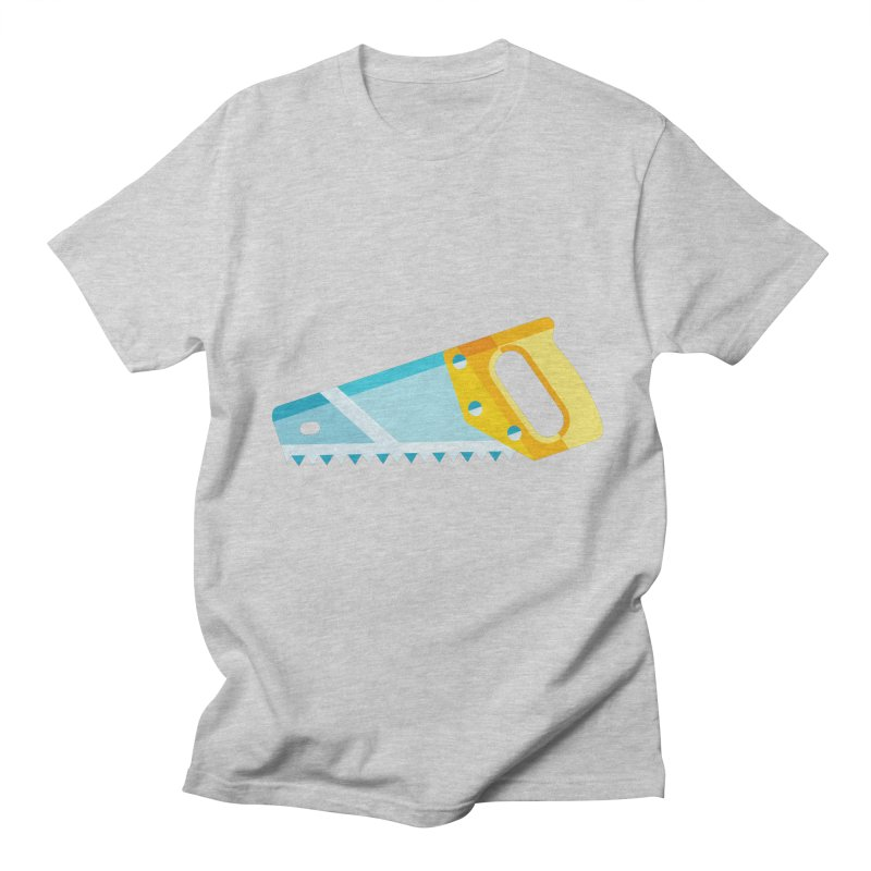 Saw Men's Regular T-Shirt by libedlulo
