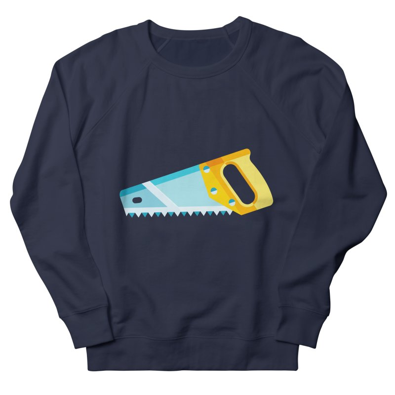 Saw Men's French Terry Sweatshirt by libedlulo