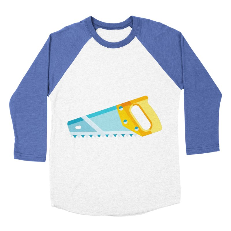 Saw Men's Baseball Triblend Longsleeve T-Shirt by libedlulo
