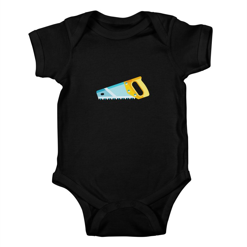 Saw Kids Baby Bodysuit by libedlulo