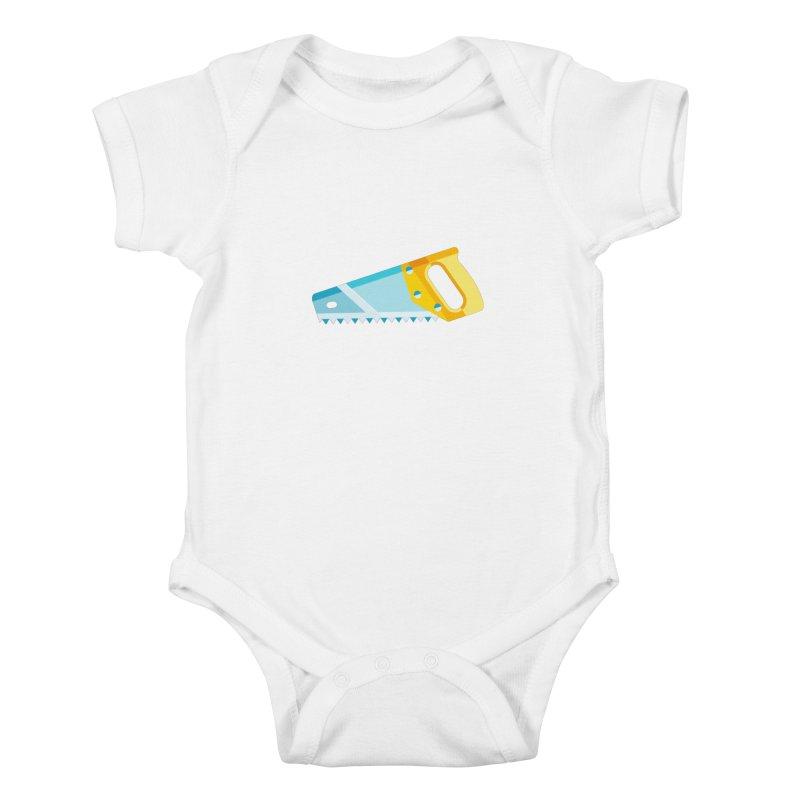 Saw Kids Baby Bodysuit by libedlulo