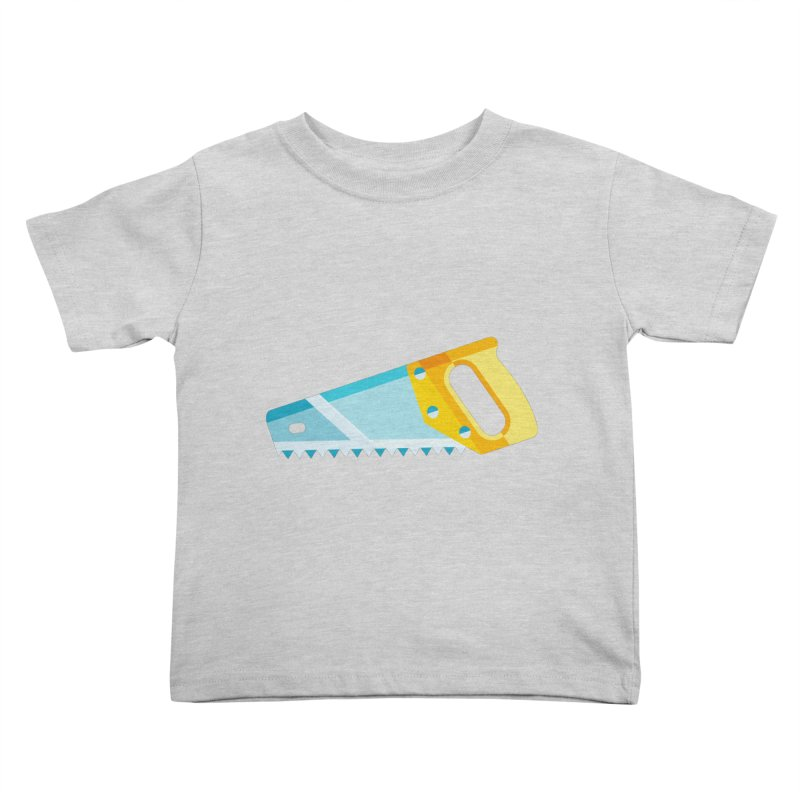 Saw Kids Toddler T-Shirt by libedlulo
