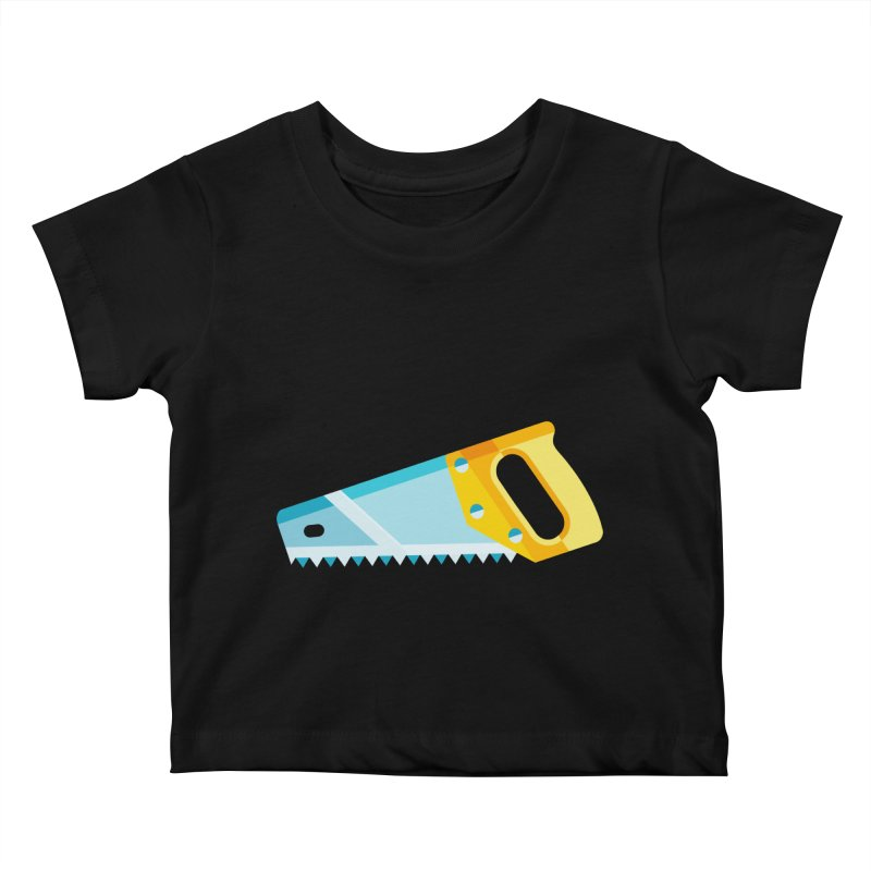 Saw Kids Baby T-Shirt by libedlulo