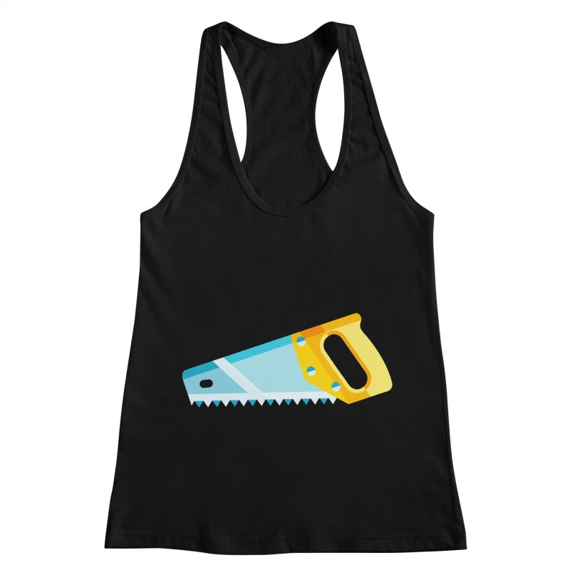 Saw Women's Racerback Tank by libedlulo