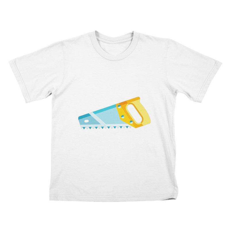 Saw Kids T-Shirt by libedlulo