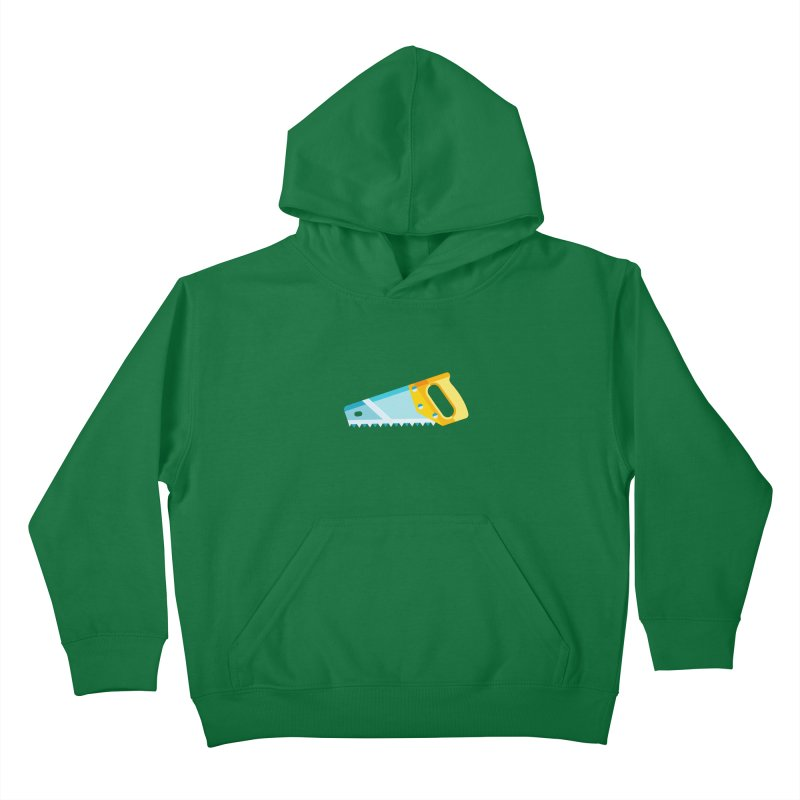 Saw Kids Pullover Hoody by libedlulo