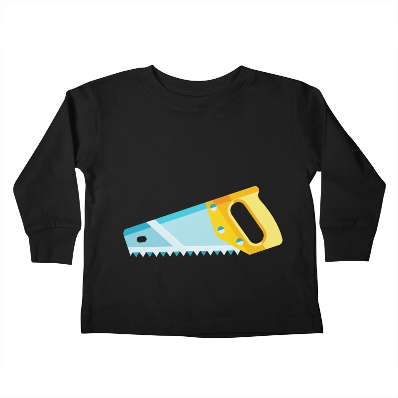 Saw Kids Toddler Longsleeve T-Shirt by libedlulo
