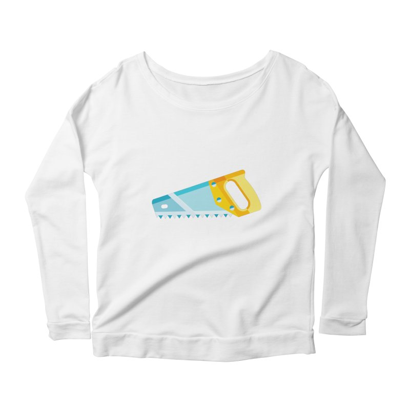 Saw Women's Scoop Neck Longsleeve T-Shirt by libedlulo
