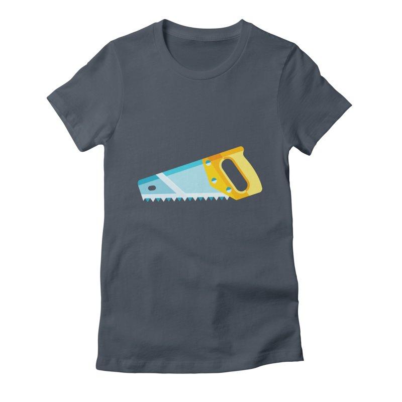 Saw Women's T-Shirt by libedlulo
