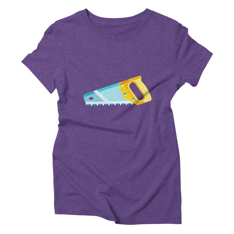 Saw Women's Triblend T-Shirt by libedlulo