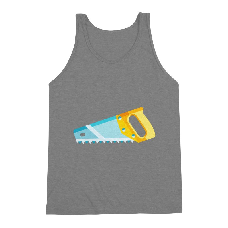 Saw Men's Triblend Tank by libedlulo