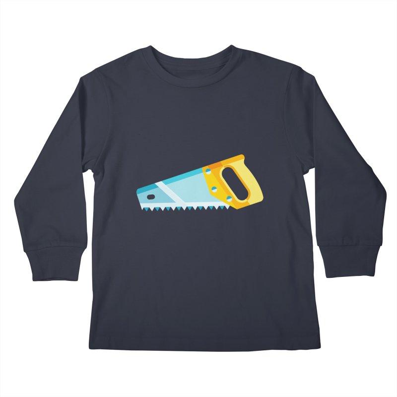 Saw Kids Longsleeve T-Shirt by libedlulo