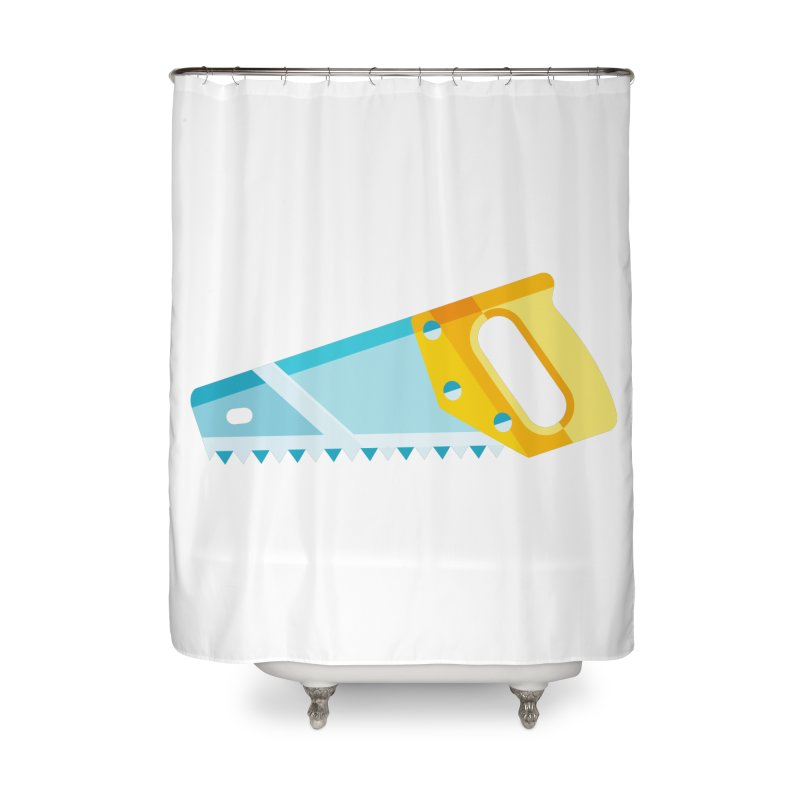 Saw Home Shower Curtain by libedlulo