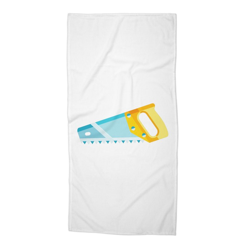 Saw Accessories Beach Towel by libedlulo