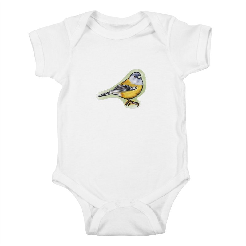 Cometocino Patagonico Kids Baby Bodysuit by libedlulo