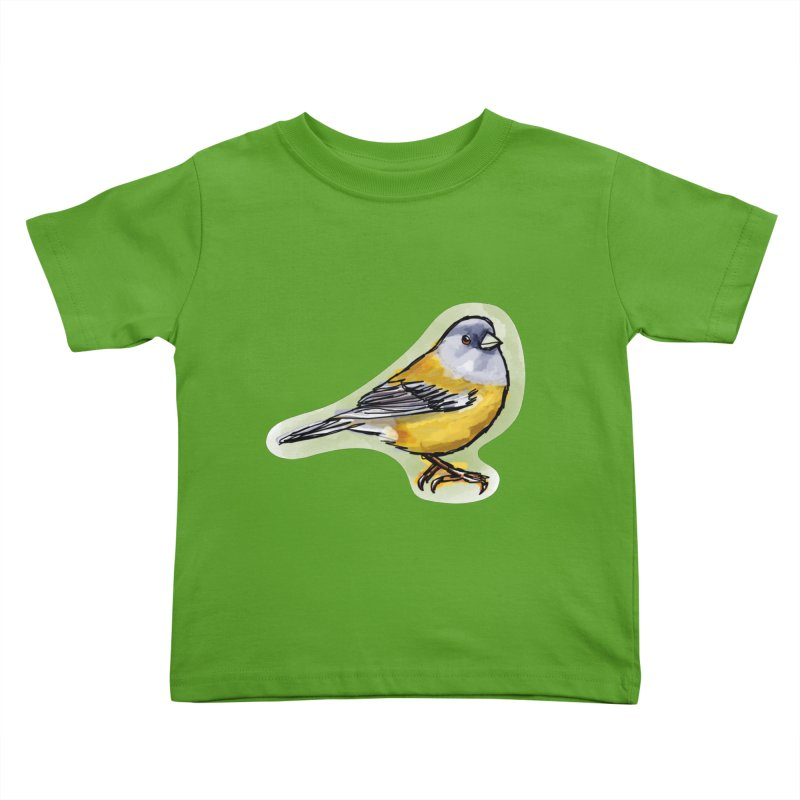 Cometocino Patagonico Kids Toddler T-Shirt by libedlulo