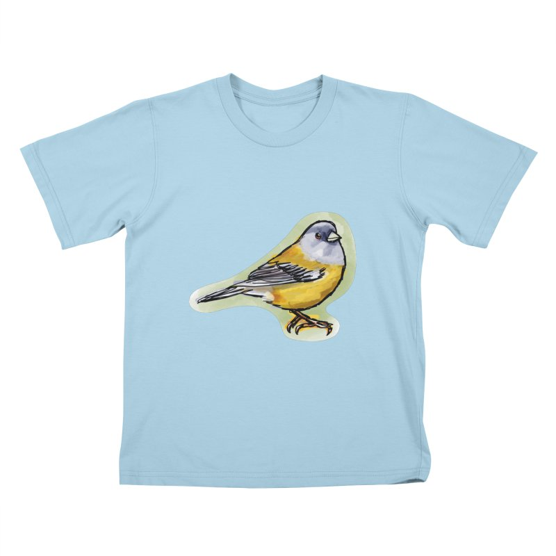 Cometocino Patagonico Kids T-Shirt by libedlulo