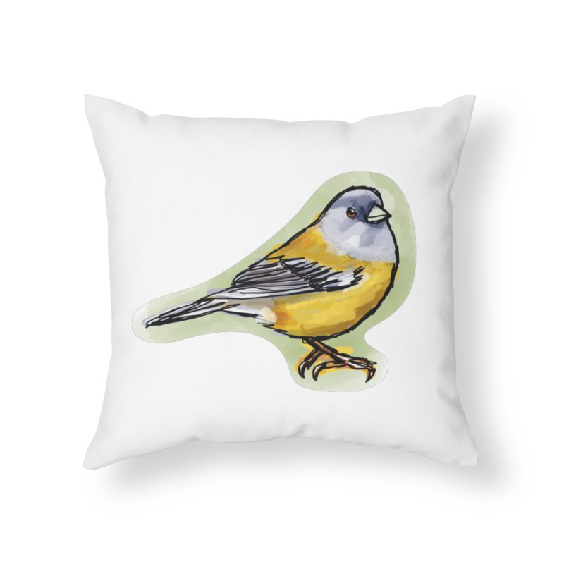 Cometocino Patagonico Home Throw Pillow by libedlulo