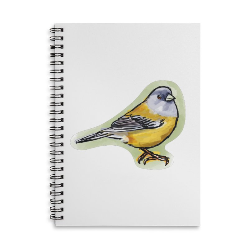 Cometocino Patagonico Accessories Lined Spiral Notebook by libedlulo