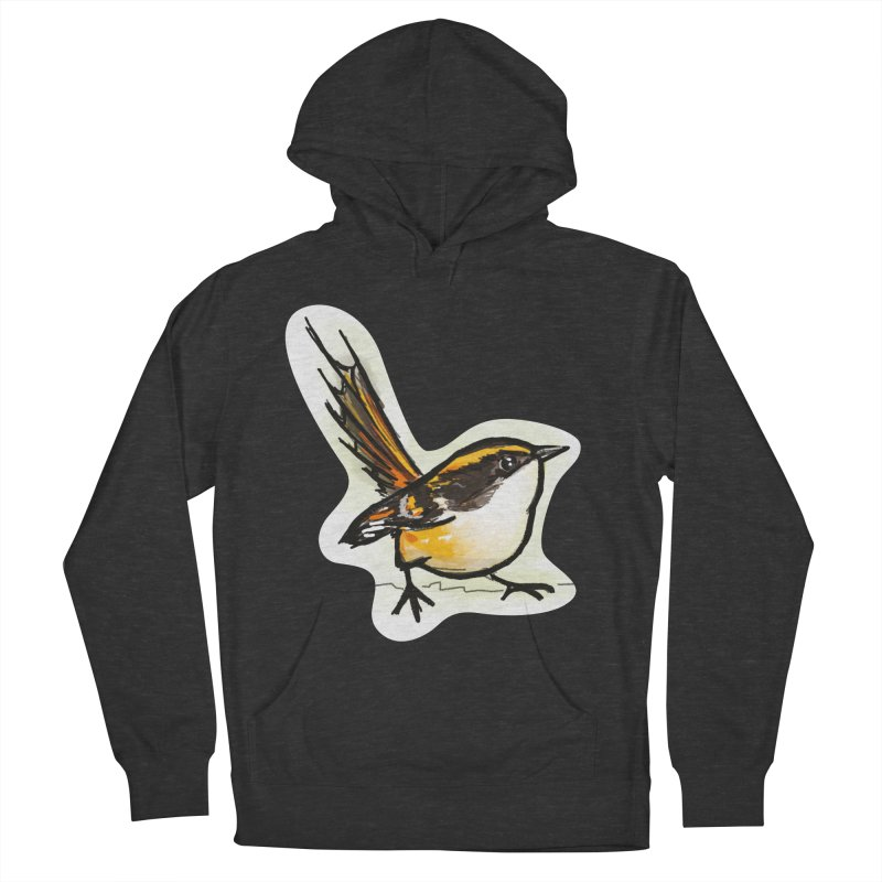 Churrin Bird Women's French Terry Pullover Hoody by libedlulo