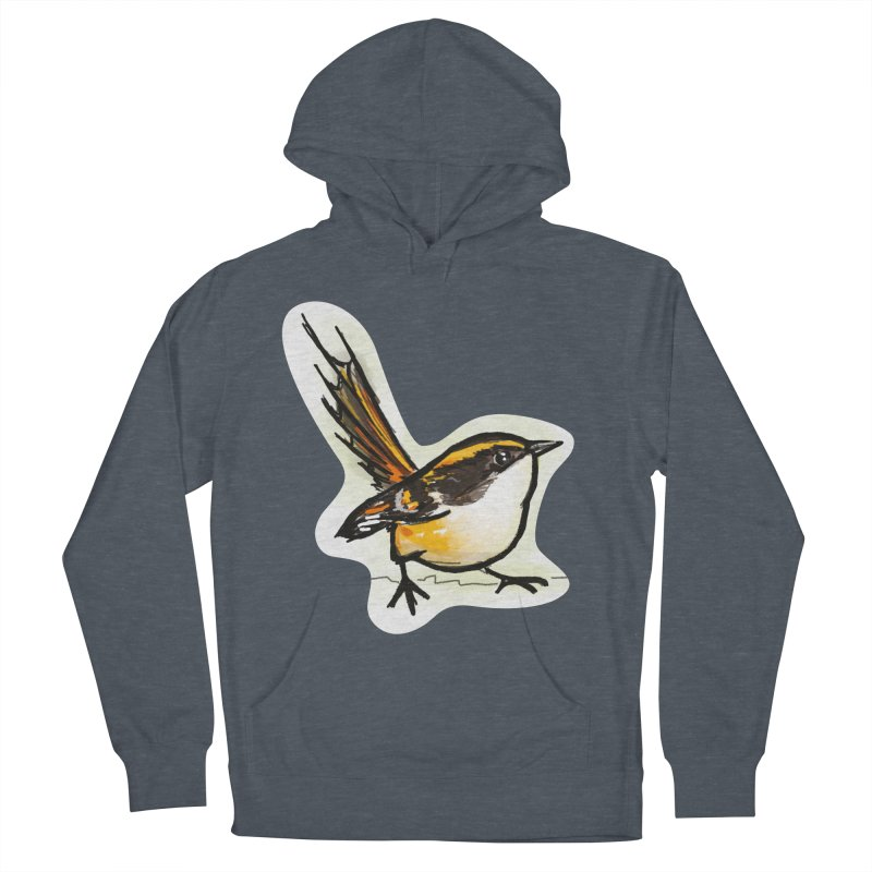Churrin Bird Men's French Terry Pullover Hoody by libedlulo