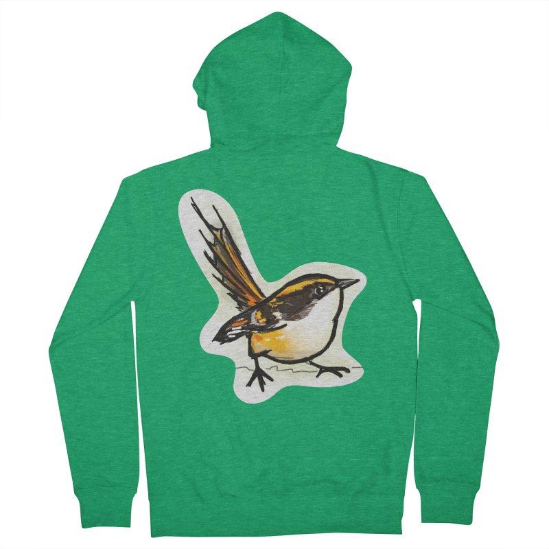 Churrin Bird Women's Zip-Up Hoody by libedlulo
