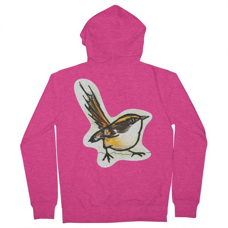 Churrin Bird Women's French Terry Zip-Up Hoody by libedlulo