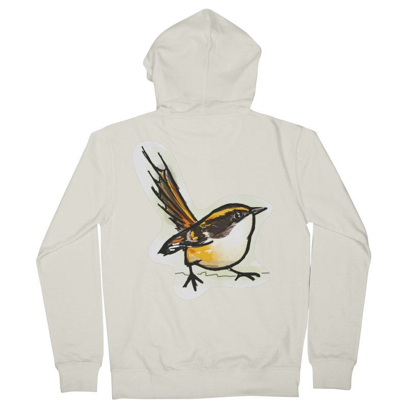 Churrin Bird Women's French Terry Zip-Up Hoody by libedlulo