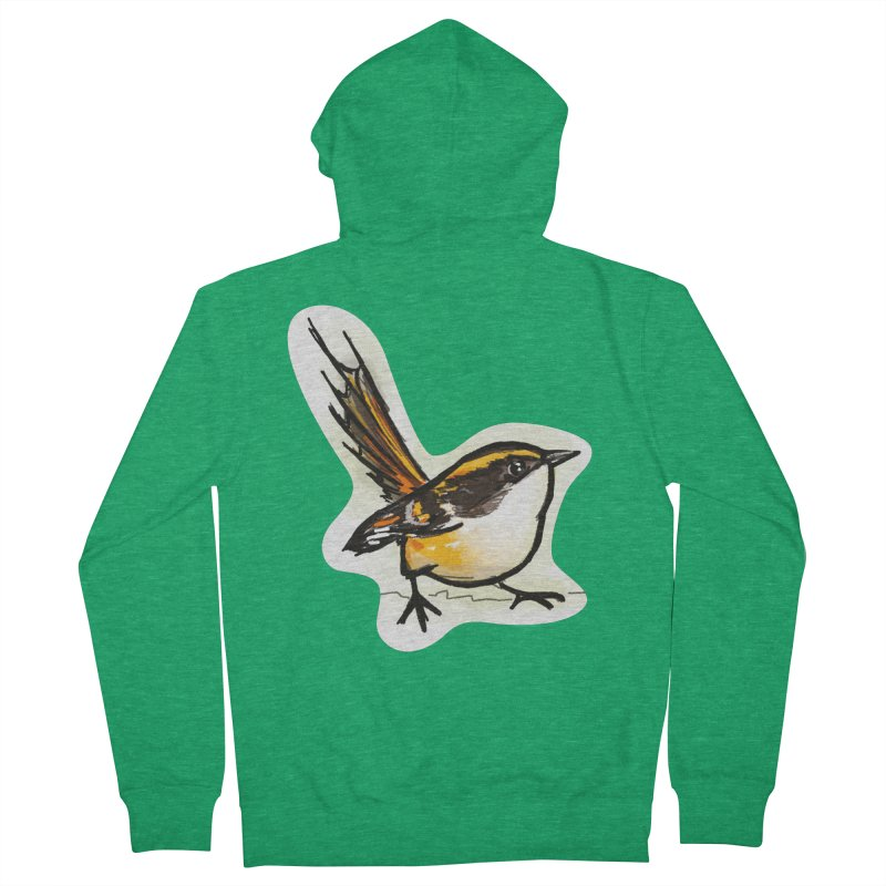 Churrin Bird Men's Zip-Up Hoody by libedlulo