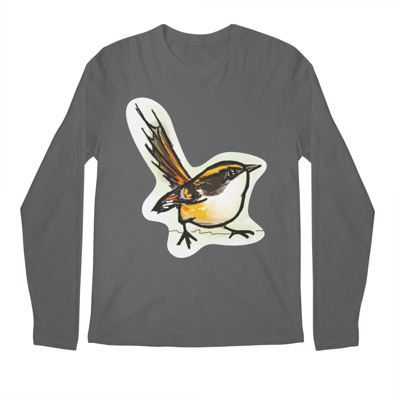 Churrin Bird Men's Longsleeve T-Shirt by libedlulo
