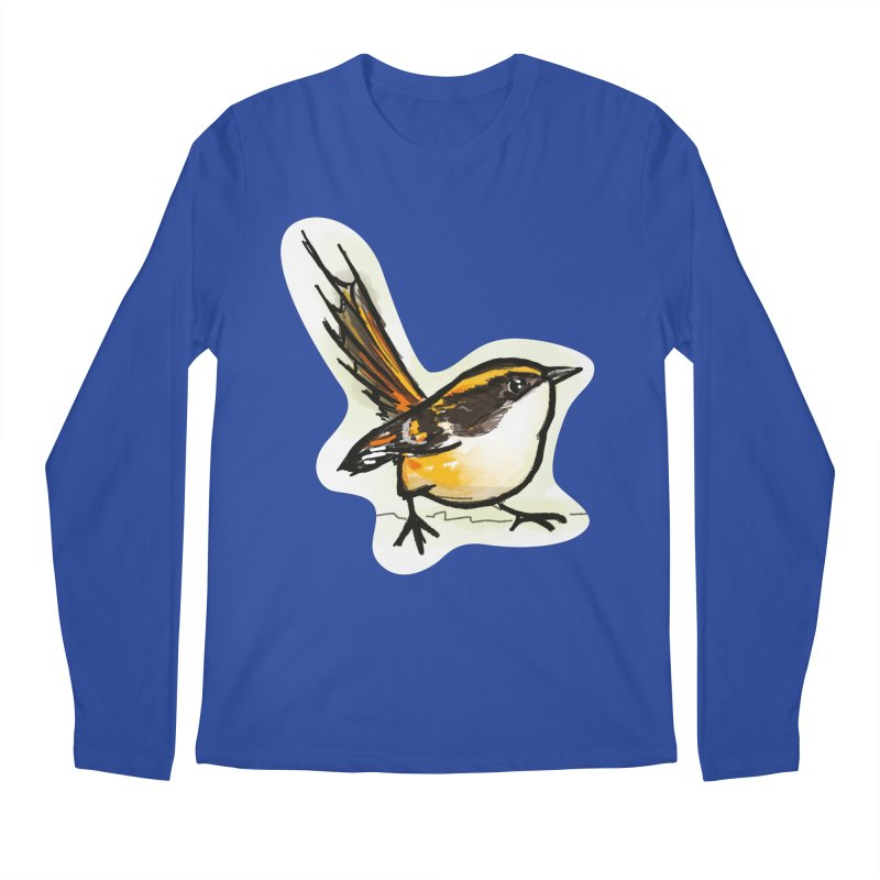 Churrin Bird Men's Regular Longsleeve T-Shirt by libedlulo