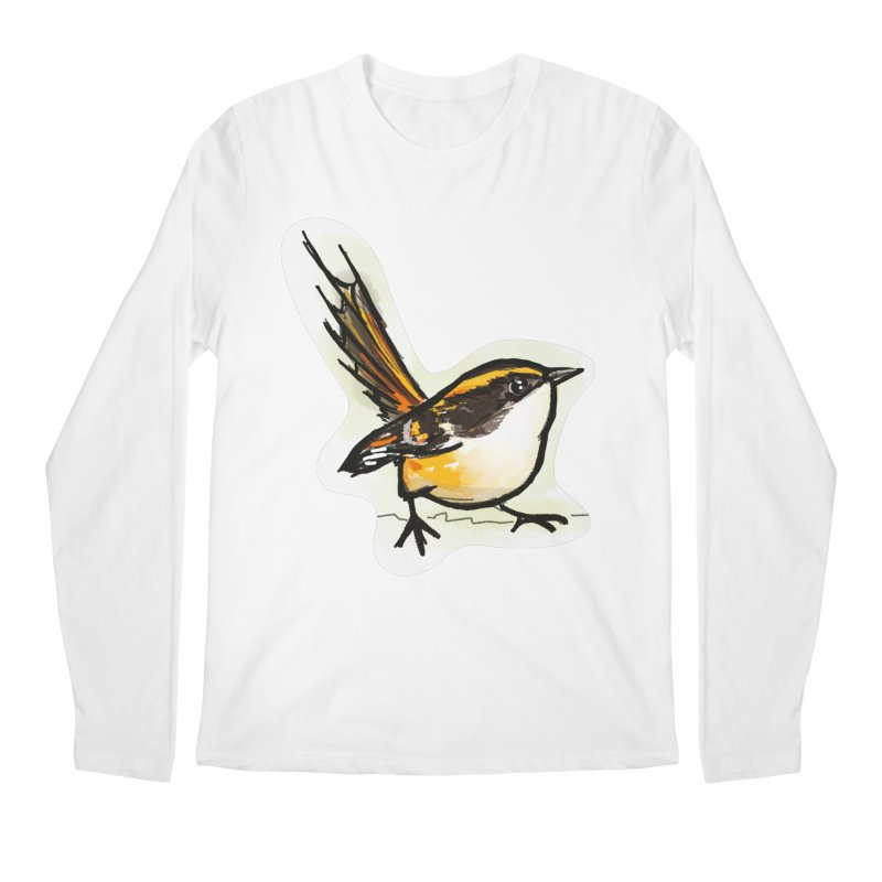 Churrin Bird Men's Regular Longsleeve T-Shirt by libedlulo