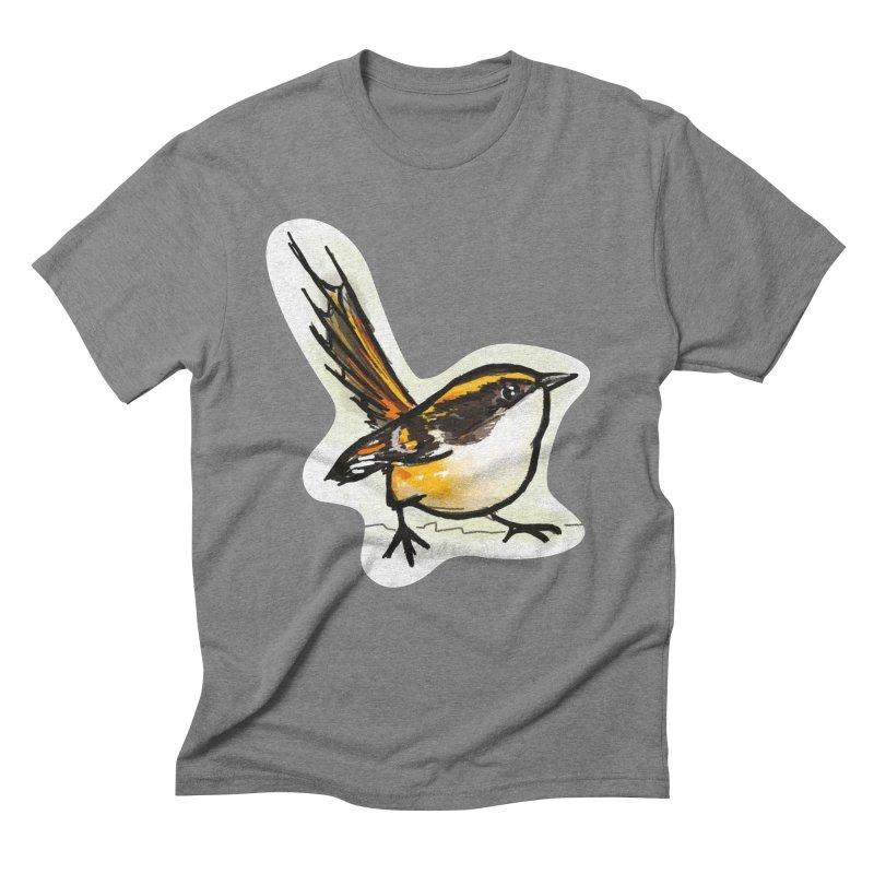Churrin Bird Men's Triblend T-Shirt by libedlulo