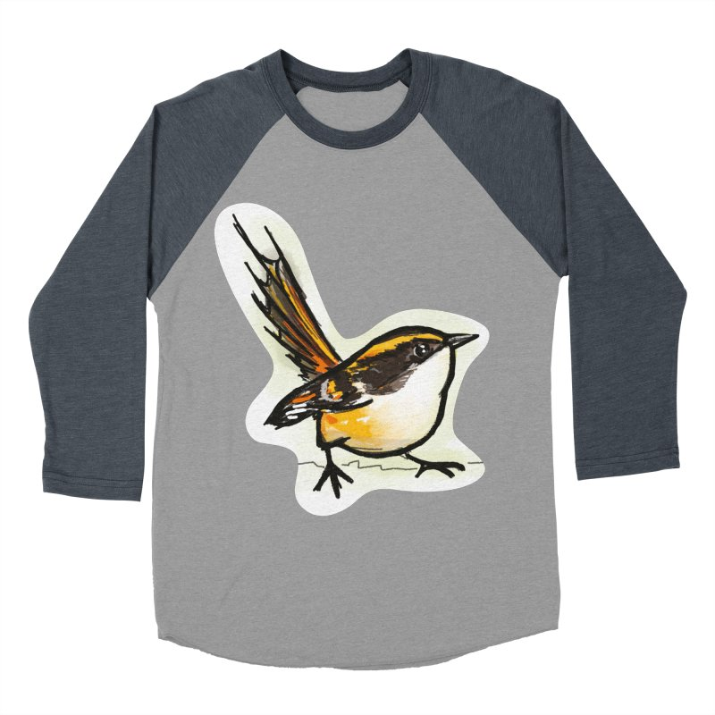 Churrin Bird Women's Baseball Triblend Longsleeve T-Shirt by libedlulo