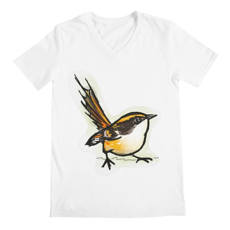 Churrin Bird Men's V-Neck by libedlulo