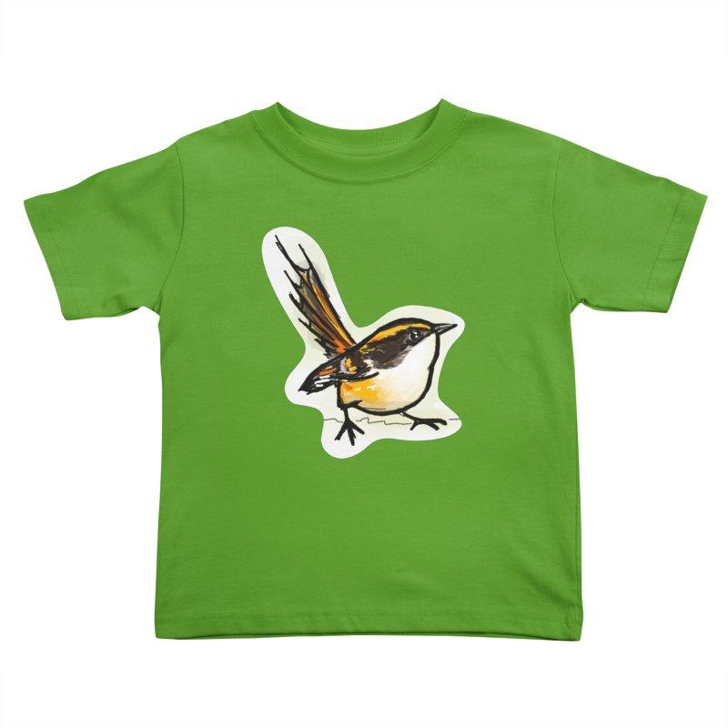 Churrin Bird Kids Toddler T-Shirt by libedlulo