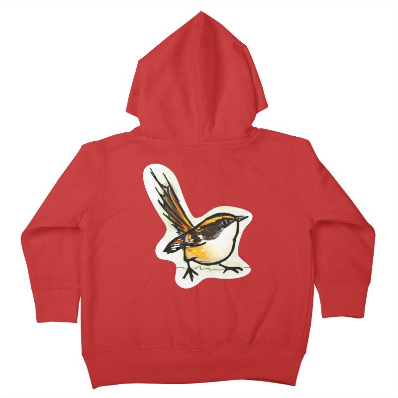 Churrin Bird Kids Toddler Zip-Up Hoody by libedlulo