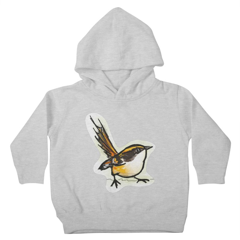 Churrin Bird Kids Toddler Pullover Hoody by libedlulo